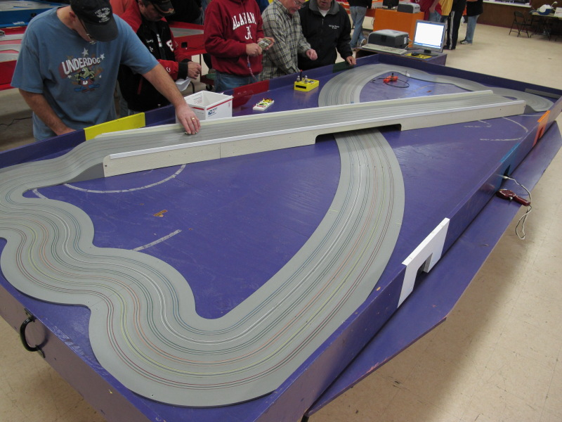 Purple track.  The butterfly with two humps.  Not used in the team event....thankfully.